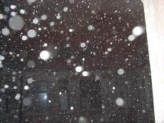 Snowflakes in a Window