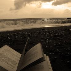 The book in the sand