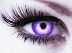 Purple Eyes.