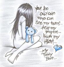 My Teddy Bear:., poem by FadedDreams