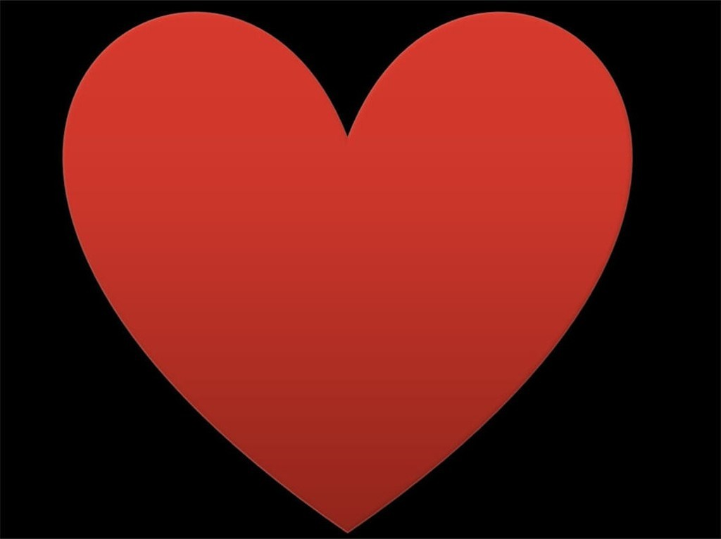 Картинки красного сердца на черном фоне