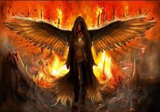in hell the fire burns cold