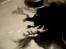 Black Ink Spilled