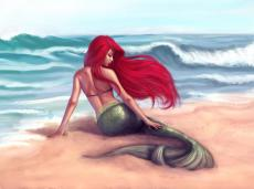 Well, this is different: The Little Mermaid (Modernized, of course)