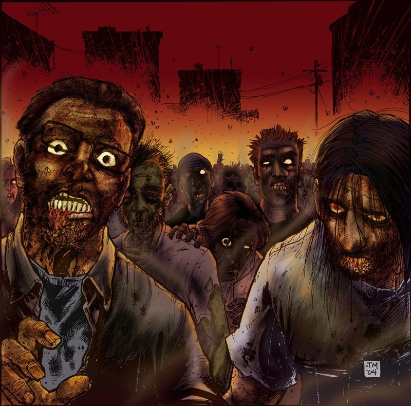 mathematical possibility of a zombie apocalypse College students study zombie apocalypse the mathematical calculations of the leicester university we have also not included the possibility for the humans.