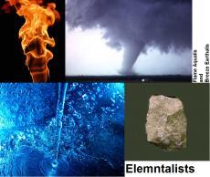 Elementalists: Flame Aqualis and Breeze Earthalis