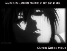 Death, is not an evil (A Death Note, L One-shot)
