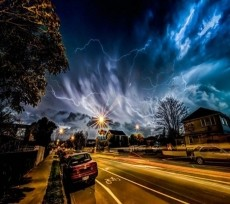 Thunderous Rainstorm