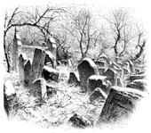 The Snow Fell on the Morning of the Funeral