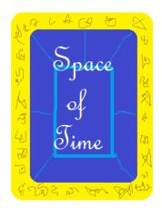 Space of Time- The tablet of Time and the Sapphire of Space