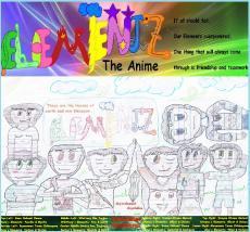Elementz the Anime Episode 1 Part 2: Guardians Fallen, A Hero Awakens