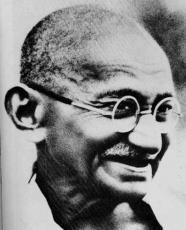 GANDHI - AN OPINION ON HOW WE SHOULD TAKE IT.