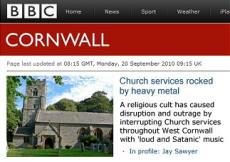 Church Services Rocked by Heavy Metal