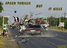 THRILLS BUT KILLS