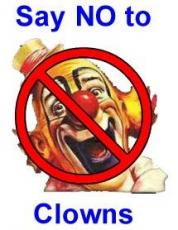I Hate Clowns... And other verbal diarrhea tales
