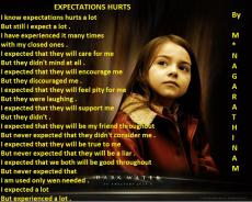 EXPECTATIONS HURTS