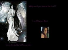 Why can't you kiss me like that?(Darken Rahl love story)