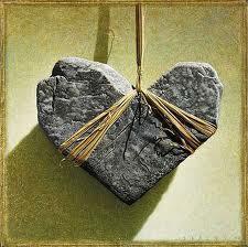 Heart of stone .
