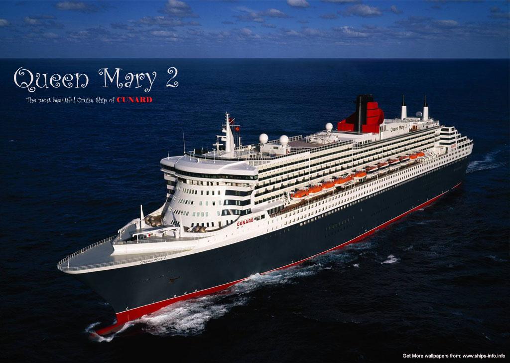 Корабль Queen Mary 2  № 3495344  скачать