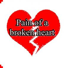 pain of a broken heart (male POV)