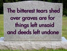 Tears Left UnSaid.......