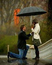Proposing her