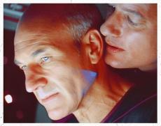 Q's gay curiosity for Picard