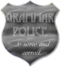 Grammar Police: Justice is Served
