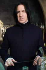 Rickman, Snape. Snape, Rickman.