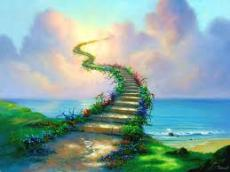 Stairway to the welcoming heaven