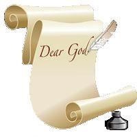 A Letter to God...