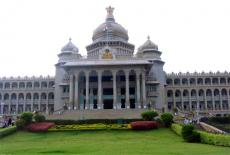 Vidhana Soudha in Bangalore, India
