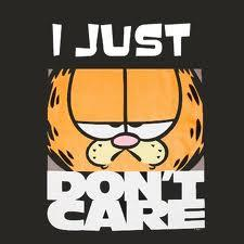 i just dont care