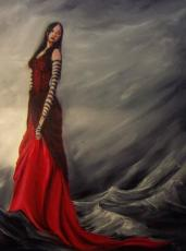 Lady In Red (poem)