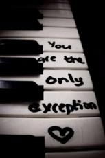 You are the one...