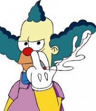 Krusty the Clown man