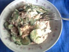 Cucumber and Tuna Salad