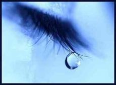 I wish I could cry