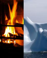 Fire and Ice Sonnet
