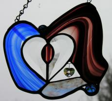 Double Glass Hearts