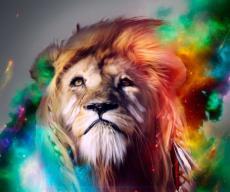 The lumberjack lion