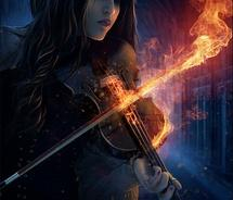 The Girl With The Flaming Violin