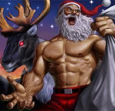SANTA VS.THE GASH SUCKING FASCISTS FROM OUTER SPACE
