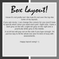 Box Layout
