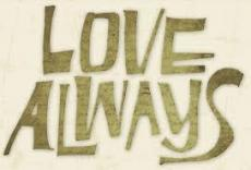 Love Always And Forever
