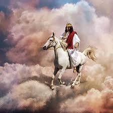 Jesus On A Horse