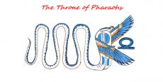 the throne of pharaohs