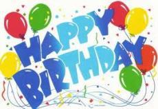 Happy Birthday! :D