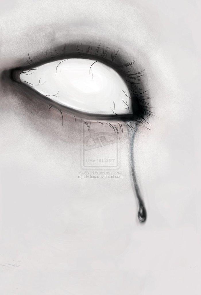 всех рисунки закрытые глаза со слезами заранее материалы