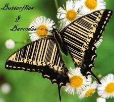 Butterflies & Barcodes
